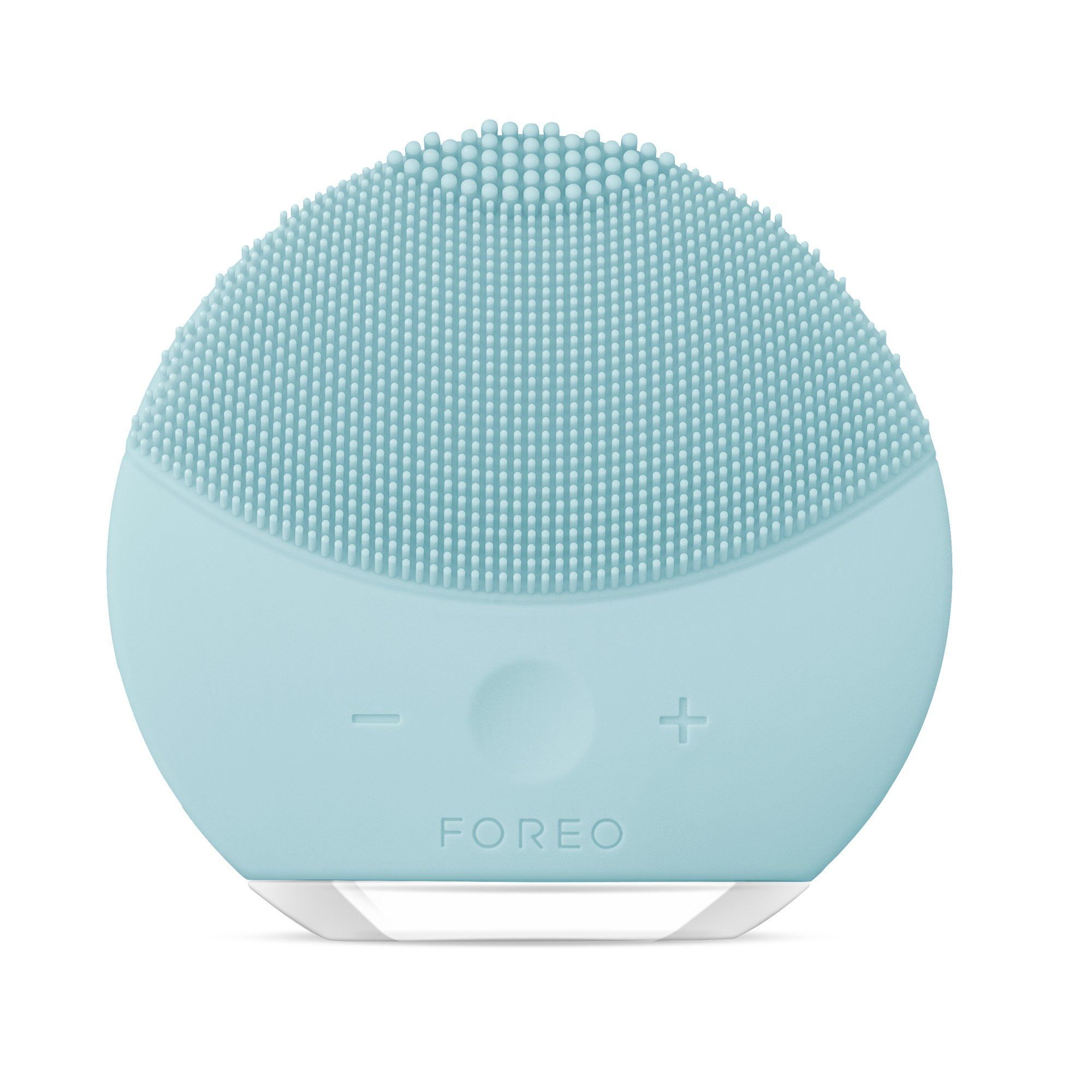 FOREO LUNA mini 2 Facial Cleansing Brush, Gentle Exfoliation and Sonic Cleansing for All Skin Types Mint by FOREO
