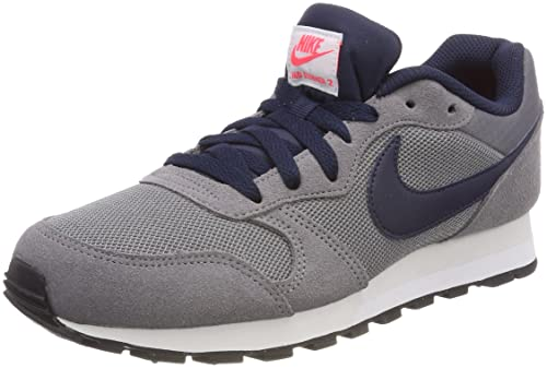 huge discount c9a28 c4c20 Nike MD Runner 2, Scarpe Running Uomo, Grigio (Gunsmoke/Obsidian/Hot  Punch/Vast Grey), 40 EU: Amazon.it: Scarpe e borse