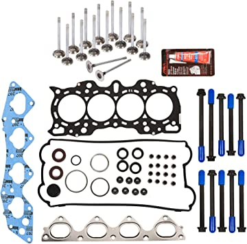 Evergreen HSTBK4030 Head Gasket Set Timing Belt Kit Fits 97-01 Honda CR-V 2.0 DOHC 16V B20B4 B20Z2 Evergreen Parts And Components