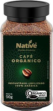 Café Orgânico Solúvel Liofilizado 90G Native Native Sabor Outro