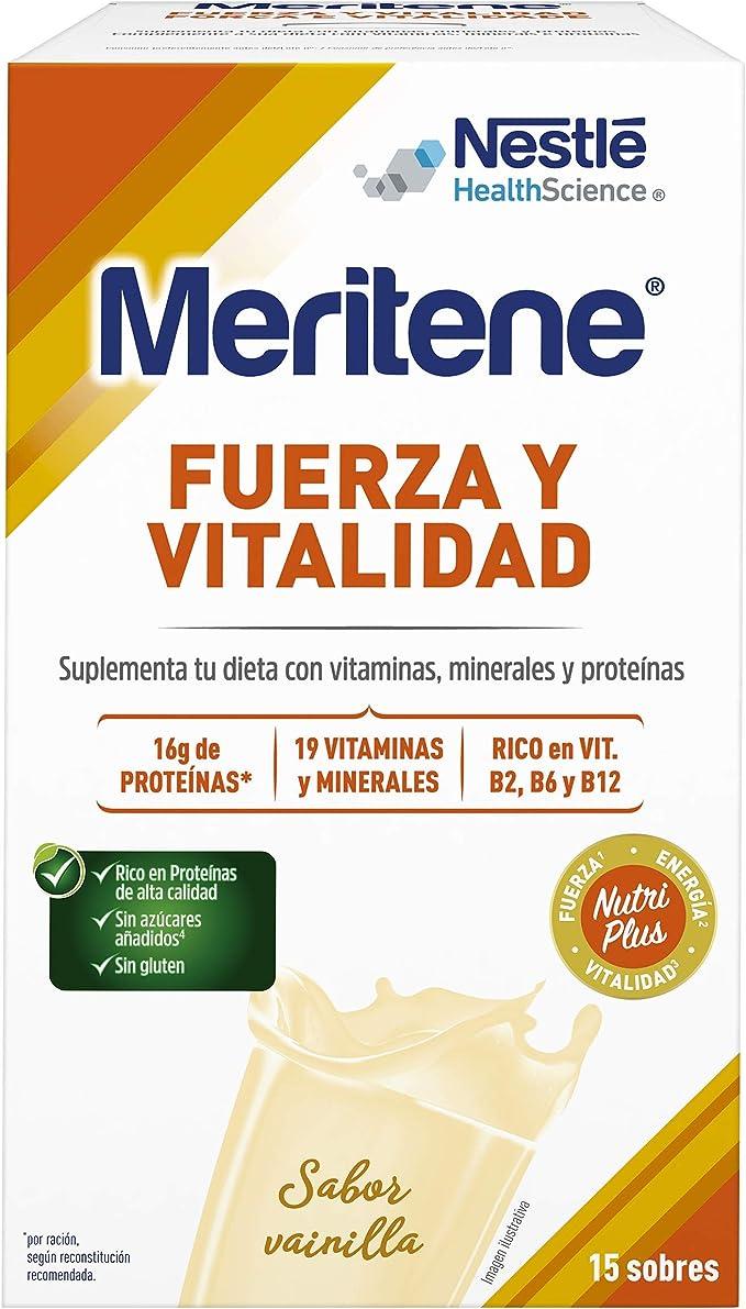 MERITENE de Nestlé Health Science - FUERZA Y VITALIDAD Batido ...