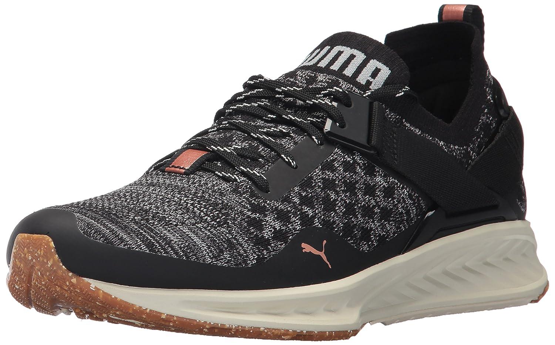 PUMA Women's Ignite Evoknit Lo VR Wn Sneaker B01MU1AESC 8 M US Puma Black-quarry-quiet Shade