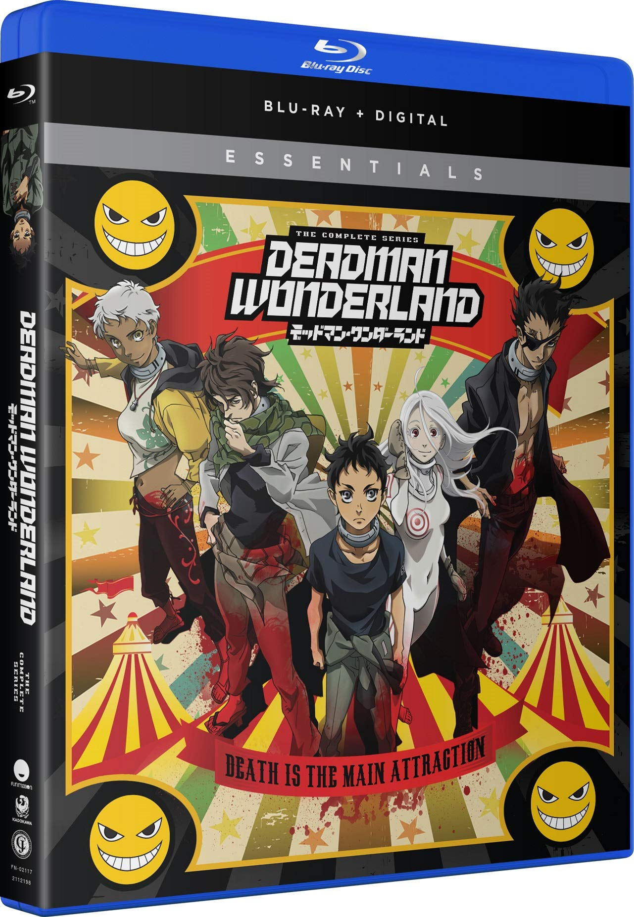 Blu-ray : Deadman Wonderland: The Complete Series (Subtitled, 2 Pack, Digitally Mastered in HD)