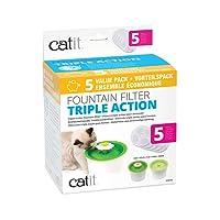 catit 43745 Triple Action Filter