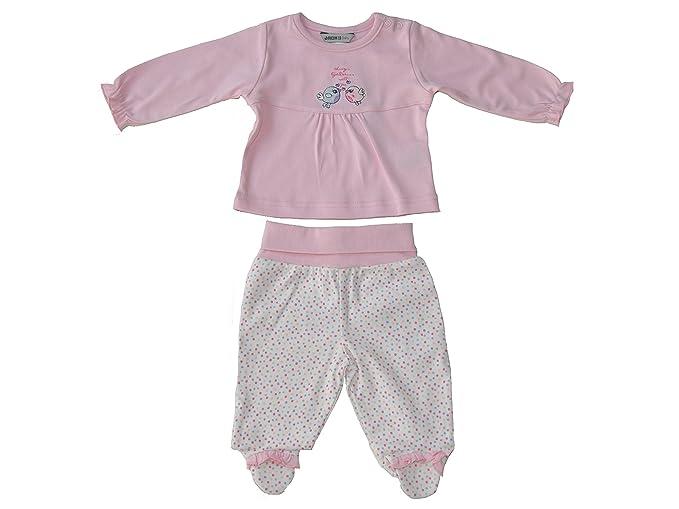 Jacky - Pijamas enteros - para bebé niña rosa, gepunktet