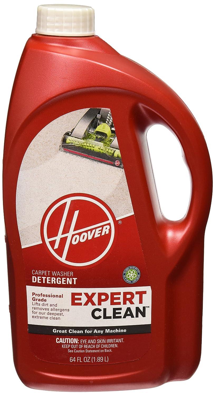 Hoover Expert Clean Carpet Washer Detergent Solution Formula, 64oz, AH15071