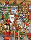 Santa's Workshop Advent Calendar (Countdown to Christmas)