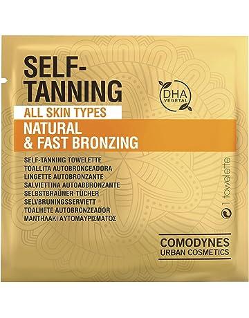 Comodynes Self-Tanning Original Toallita Autobronceadora - 8 Unidades | Autobronceador facial, cuello y