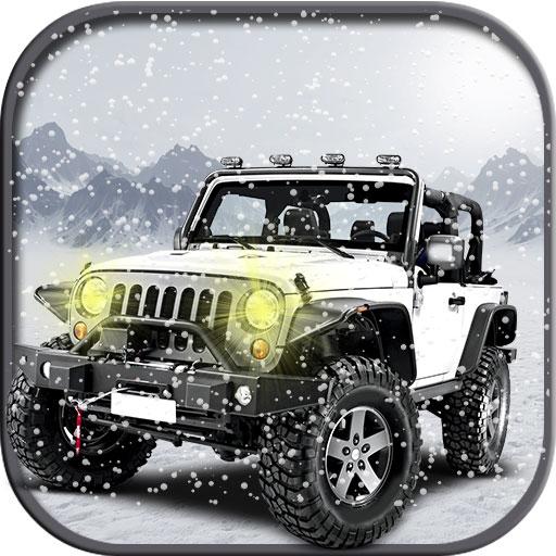4 X 4 Off Road Driving (4x4 Offroad Snow Prado)