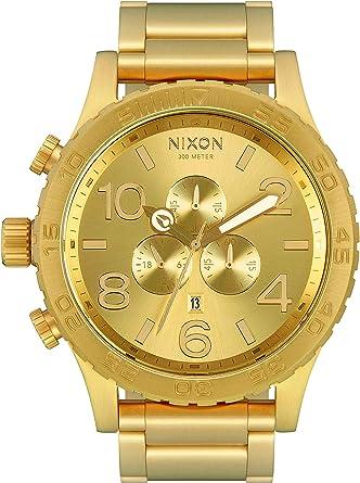 Orologio nixon da uomo con cinturino in rivestito in acciaio inox A083-502-00