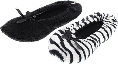 Plush Ballerina Slippers