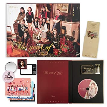 TWICE 3rd Special Album - THE YEAR OF YES [ A Ver  ] CD + Photobook