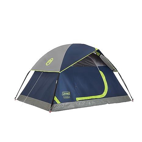 online retailer 7348e 43751 Amazon.com : Coleman 2-Person Sundome Tent, Navy : Sports ...