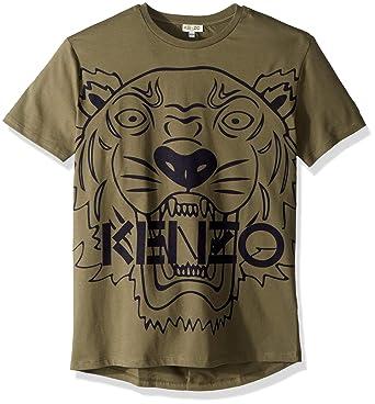 be8ac4494cf9 Kenzo T-Shirt Tiger JB 3 Vert  Amazon.fr  Vêtements et accessoires