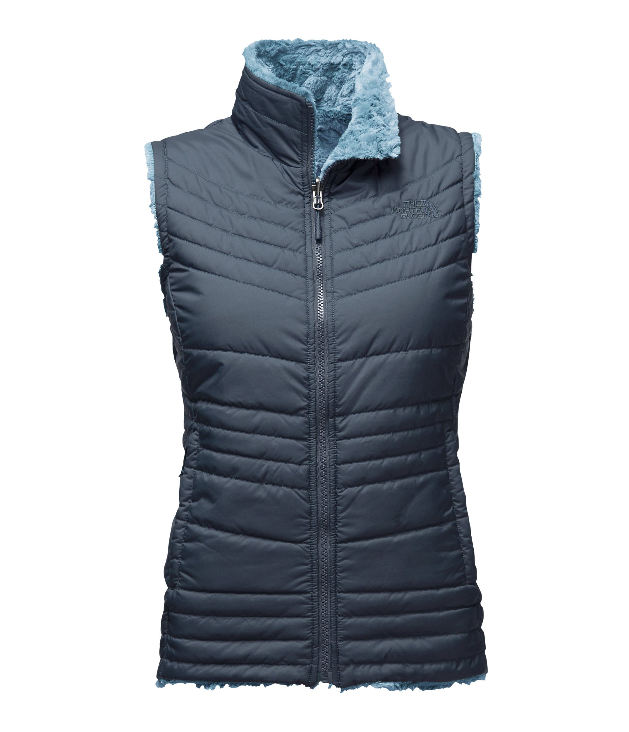 The North Face Women's Mossbud Swirl Vest - Ink Blue/Provincial Blue - S