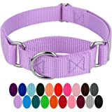 Country Brook Design | Martingale Heavyduty Nylon Dog Collar (Various Sizes & Colors)