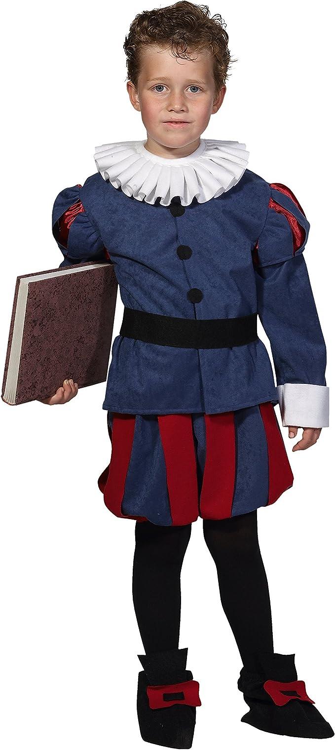 Disfraz de Cervantes para niño - 9-11 años: Amazon.es: Juguetes y ...