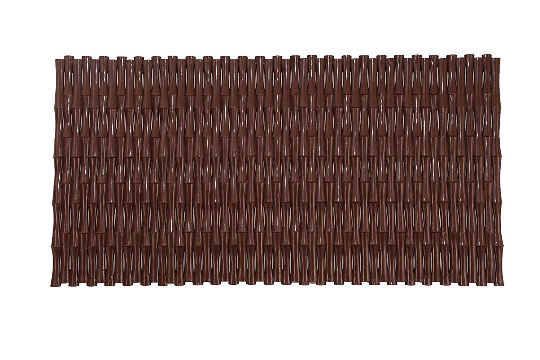 Shark 071/237091 Tappeto Antiscivolo in PVC per Vasca, 35 x 70 cm, Marrone CPE