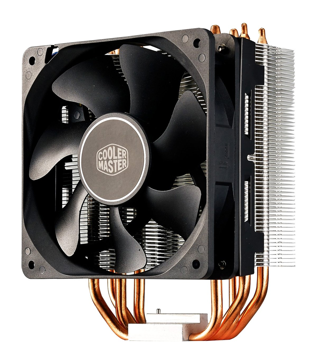 4-Pin Cooler Master Hyper TX3i CPU-K/ühler 3 Heatpipes RR-TX3E-22PK-B1 1x 92mm PWM L/üfter PWM