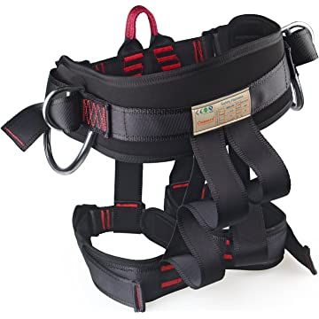 top selling Thicken Wider Climbing Harness