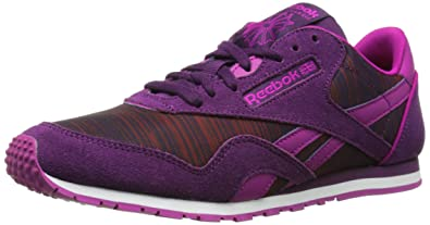 13421bd667ab1 Amazon.com | Reebok Women's Classic Nylon Slim Geo Graphic Shoe ...