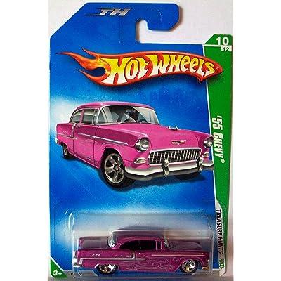 Hot Wheels 2009 Treasure Hunts 10/12 \'55 Chevy 1:64 Scale: Toys & Games [5Bkhe1901101]