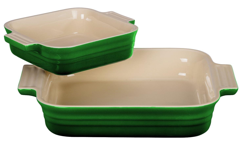 Le Creuset 9 Square Dish w/ 5 Bonus Dish, Fennel PG0715-2369