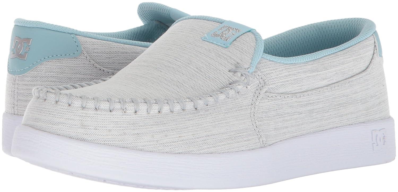 DC Women's Villain SE Slip-on Skate Shoe B073222BVD 9 B(M) US|Light Grey/Blue