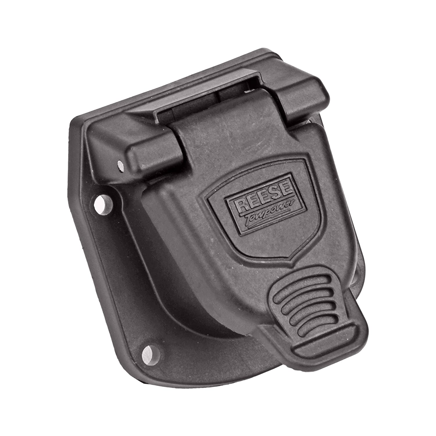 Reese Towpower 85476 Professional Series 6-Pole Round Vehicle End Connector