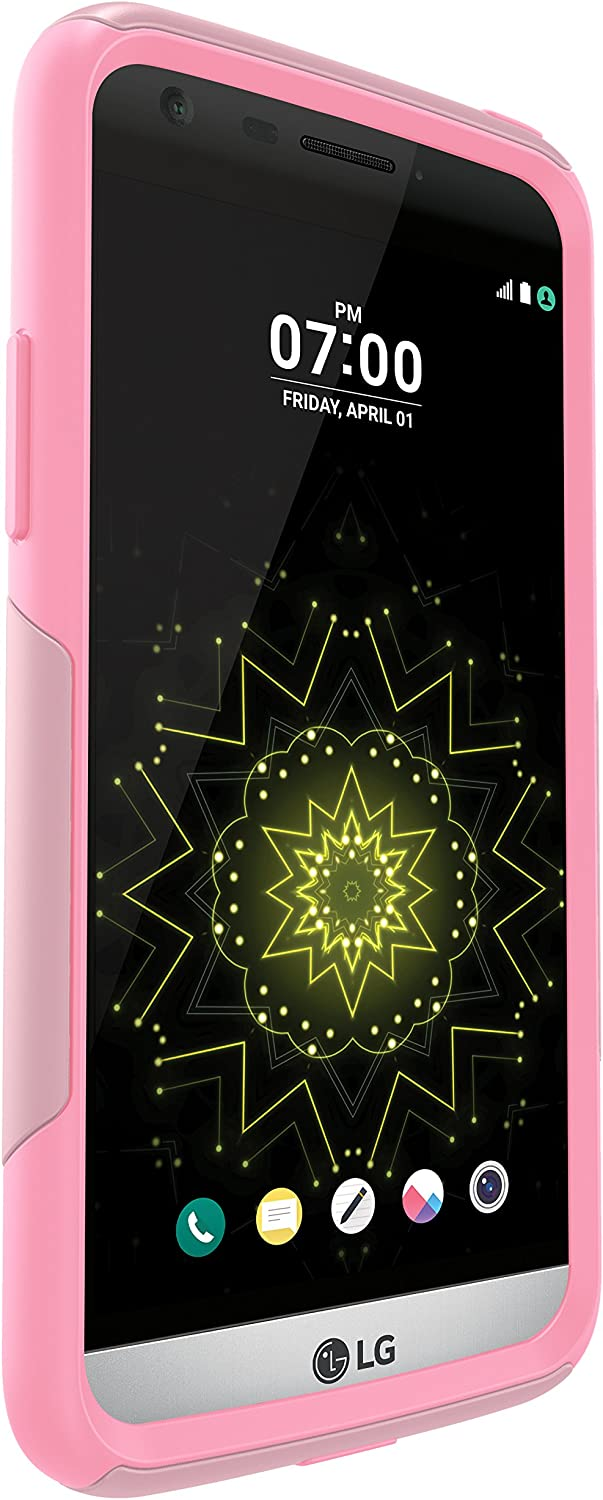 OtterBox 77-53330 COMMUTER SERIES Case for LG G5 - Retail Packaging - BUBBLEGUM WAY (BUBBLEGUM PINK/SEASHELL PINK)