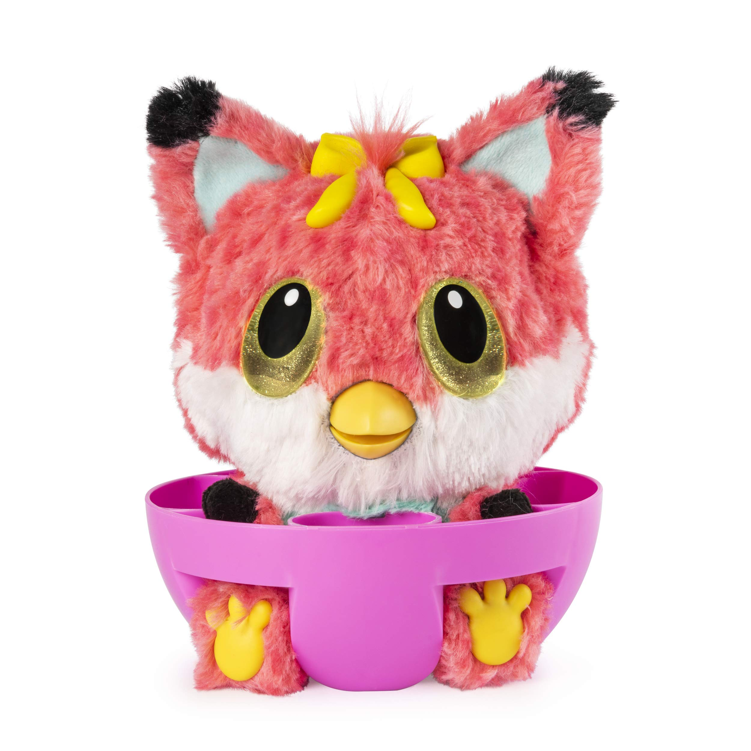 Hatchibabies FoxFin - Hatching Egg with Interactive Pet Baby (Styles May Vary) Ages 5 and Up - HOT Toy 2018 by Hatchimals (Image #4)