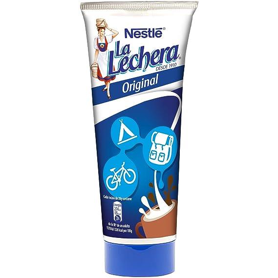 Nestlé La Lechera Leche condensada - Tubo de leche condensada - Caja de 24 x 170 g