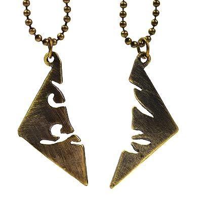 3a4b213ea537 Beaux Bijoux - Juego de Collares de Cazadores de Sombras  Ciudad de Hueso   Amazon.es  Joyería