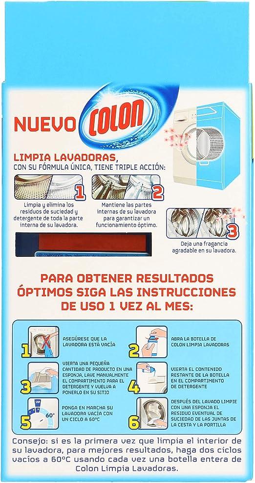 Colon limpia lavadora caja 250 ml.: Amazon.es: Alimentación y bebidas