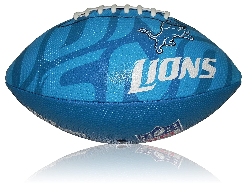 Wilson Football NFL Junior Detroit Lions Logo - Balón de fútbol americano ( infantil, caucho ) , color multicolor, talla 5 WL0206744040
