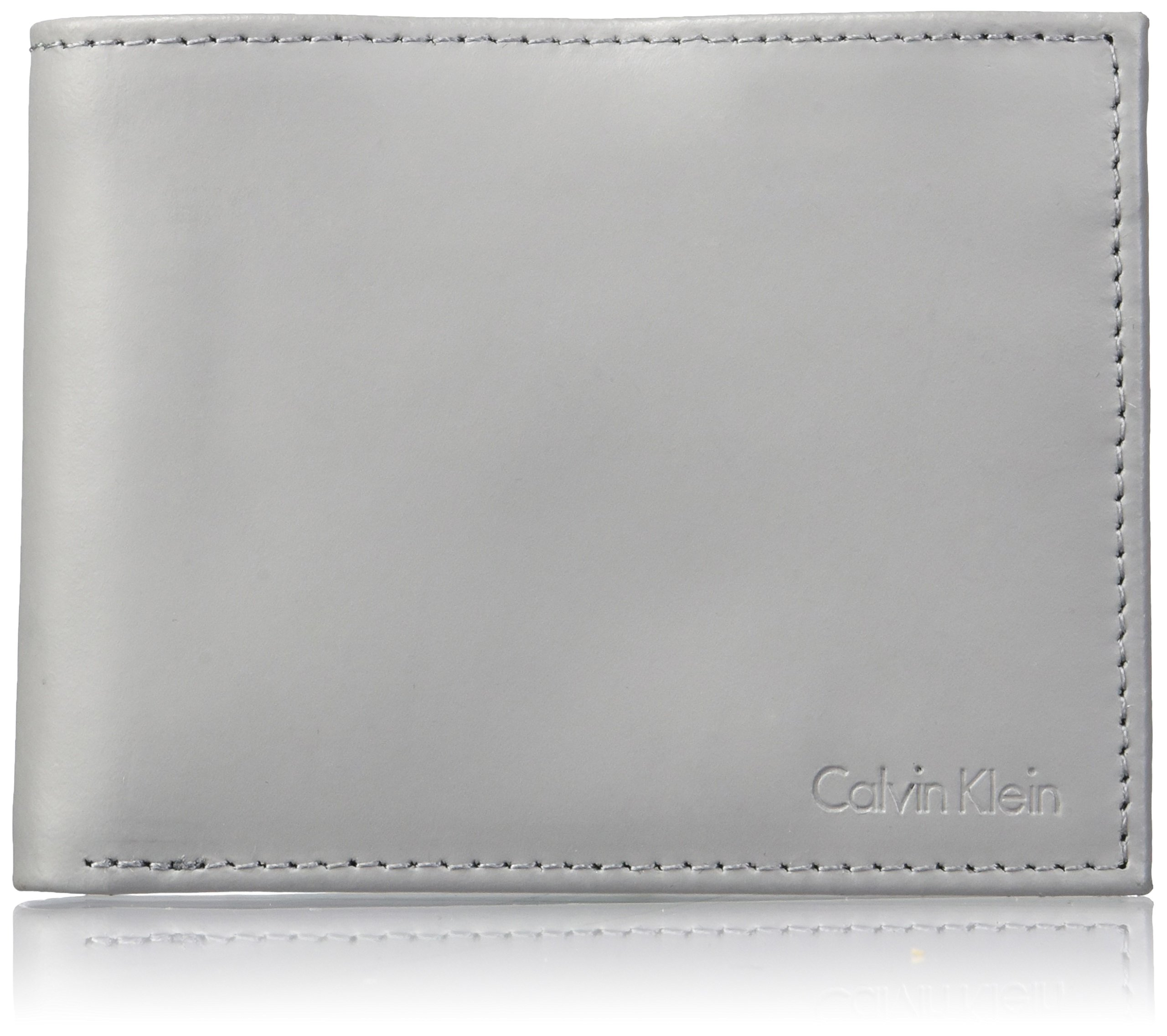 21402f5447817 Galleon - Calvin Klein Men s RFID Blocking Leather Bifold Wallet With Key  Fob