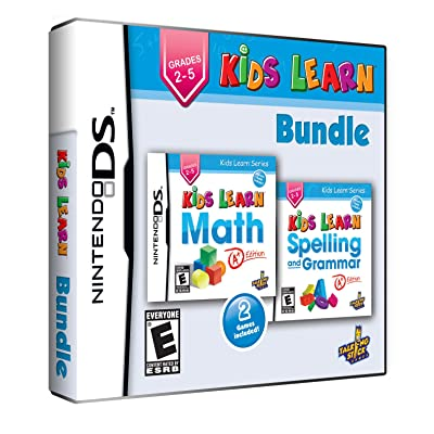 Kids Learn Bundle: Math and Spelling - Grades 2 to 5: Video Games