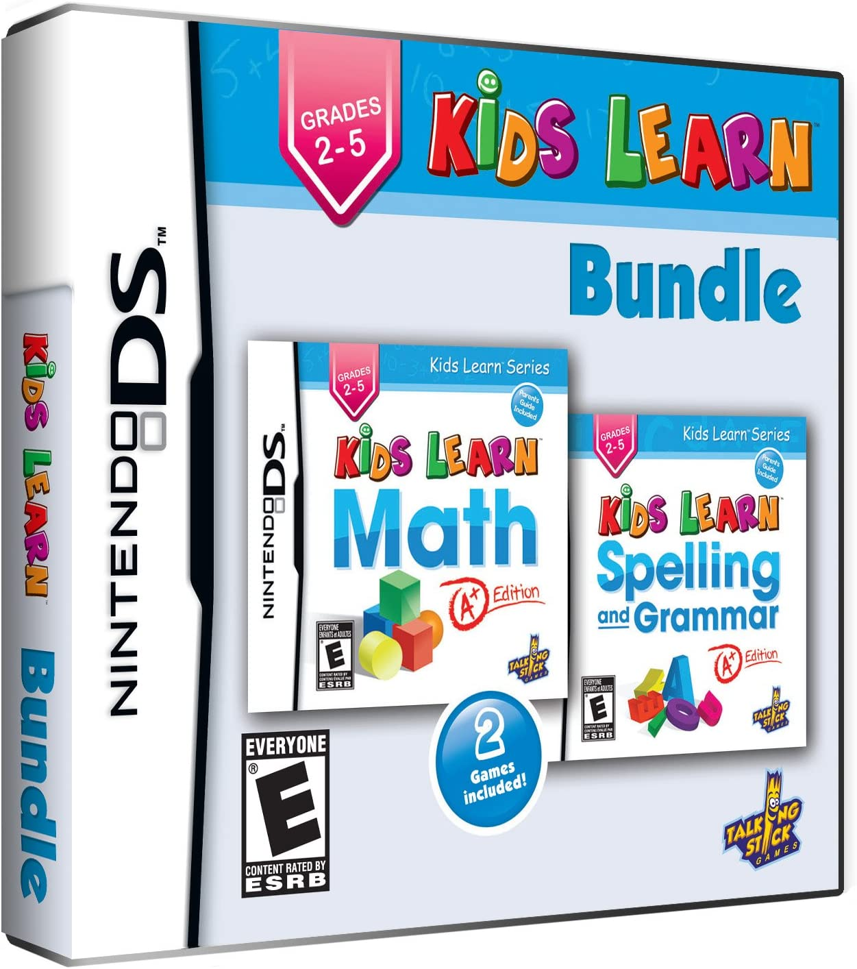 Amazon.com: Kids Learn Bundle: Math and Spelling - Grades 2 to 5 ...