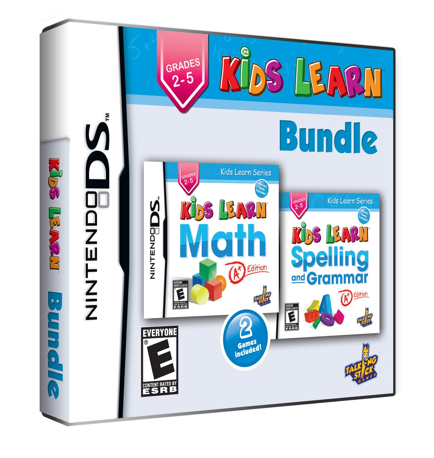 Kids Learn Bundle: Math and Spelling - Grades 2 to 5 by Talking Stick Games