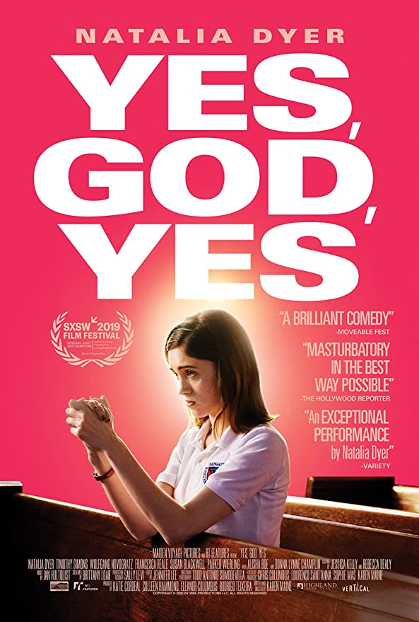"giclee Poster - Yes God Yes (Natalia Dyer) 2020 Movie 12""x18"""