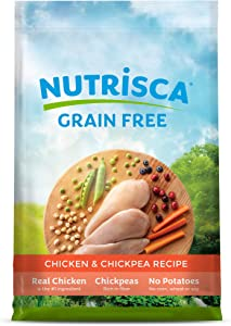 Dogswell NUTRISCA Premium Grain Free Dry Dog Food, Chicken & Chickpea Recipe