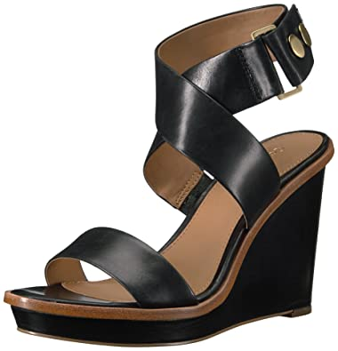 99f33d60f4 Amazon.com | Calvin Klein Women's Pernina Wedge Sandal | Platforms ...