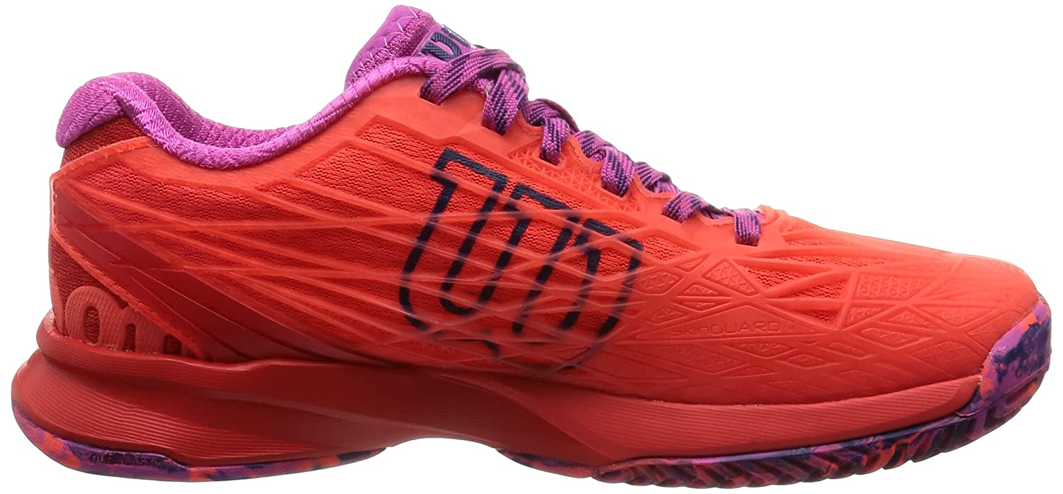 Wilson Kaos B(M) Womens Tennis Shoe B01K5IQY9W 9 B(M) Kaos US|Fiery Coal/Fiery Red/Rose 7d13a7