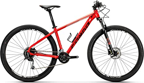 Conor Bicicleta 8500. Bicicleta de montaña con Dos Ruedas. Bici Adultos. Bike. Ruedas 29 Pulgadas. 9 velocidades. (Rojo MD): Amazon.es: Deportes y aire libre