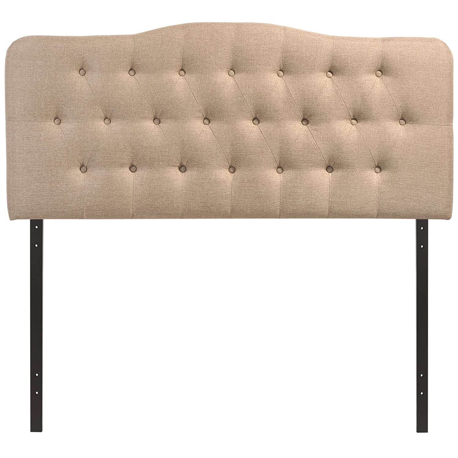 Amazon.com: Modway Annabel Upholstered Tufted Button Fabric ...