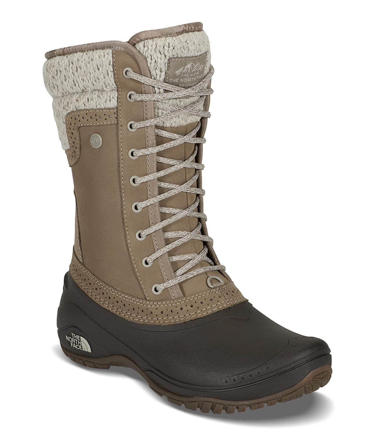 The North Face Womens Shellista II Mid B018WSWP90 9.5|Split Rock Brown & Dove Grey