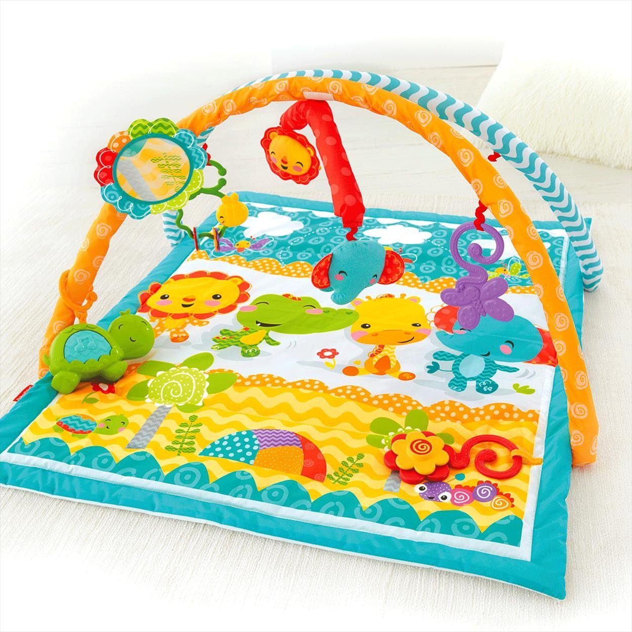 Fisher-Price Wigglin Play Gym