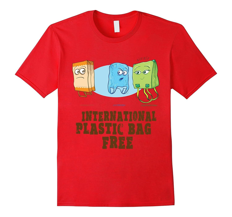 3rd July - International Plastic Bag Free Day T-Shirt-Vaci