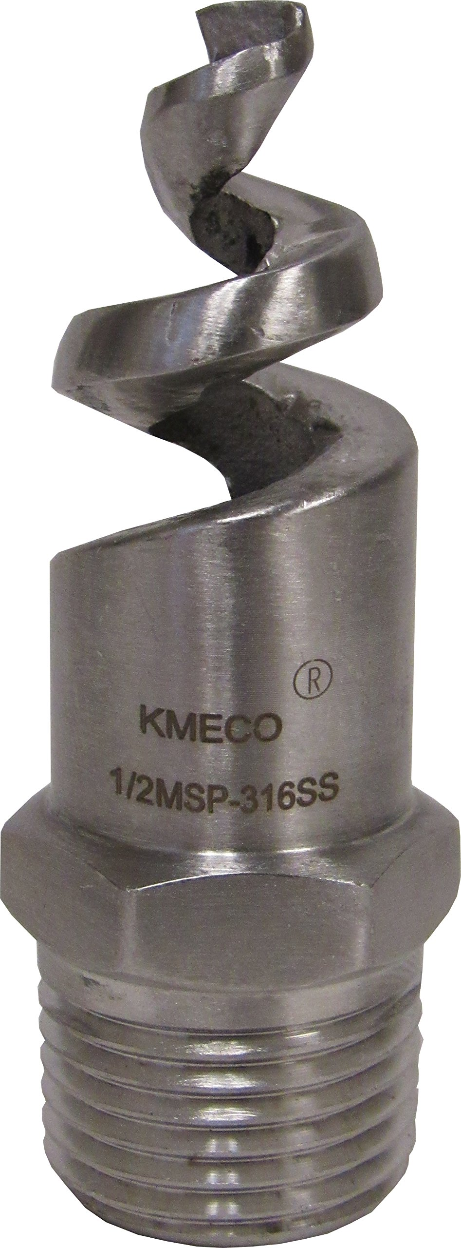 KMECO 1/2'' NPT 316 STAINLESS STEEL SPIRAL SPRAY NOZZLE