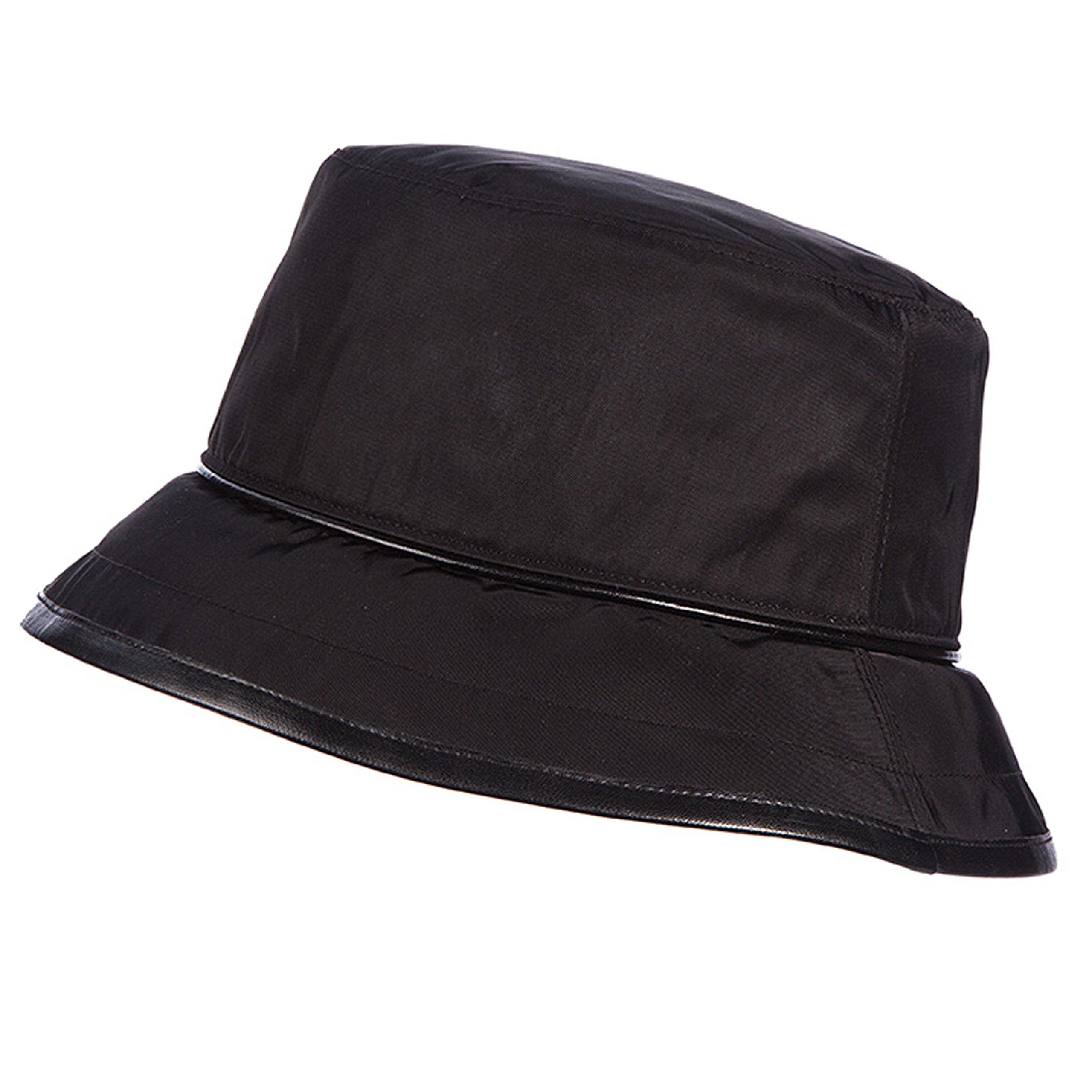 SCALA Deluxe Rain Bucket Hat (Black)